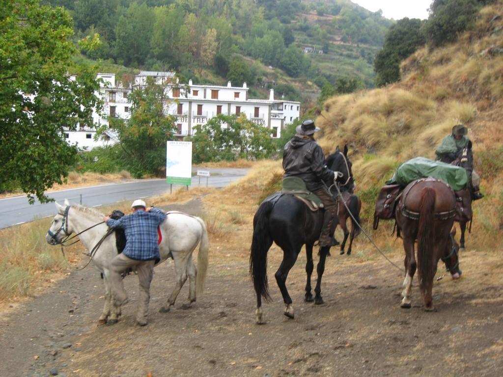 Trevelez a caballo