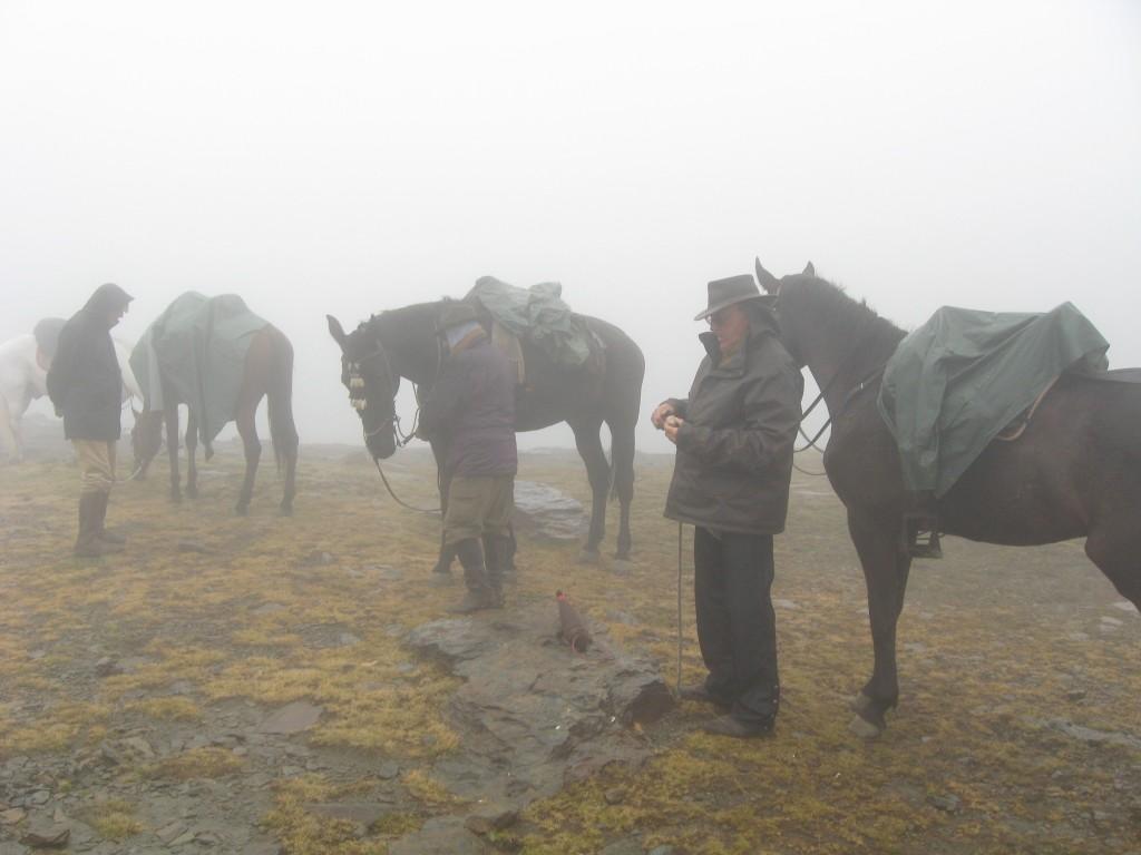 A caballo Río Seco.