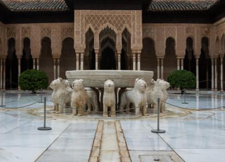 Granada a caballo Alhambra